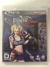"NEW LOLLIPOP CHAINSAW (SONY PLAYSTATION 3) NTSC ""FREE SHIPPING"""