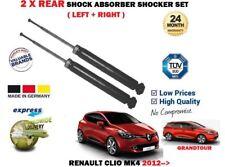 Per RENAULT CLIO MK4 0.9 1.2 1.5 DCI 2012 - > 2X Posteriore AMMORTIZZATORE Shocker Set