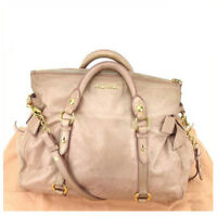 miumiu Shoulder bag Pink Gold Woman Authentic Used Y7452