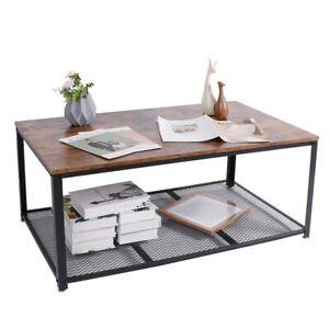 Ausla Tavoli e tavolini per Soggiorno,Portariviste in Legno,Tavolino da Letto Industriale,Tavolino Laterale da Divano,19x49.8x55.5 cm,Marrone