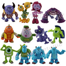 Disney Monsters University Sulley Mike Randall Characters Set Of 12pcs