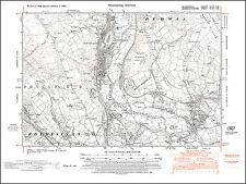 Wrexham old map Denbigh 1949: 28SE repro Wales Rhostyllen Bersham