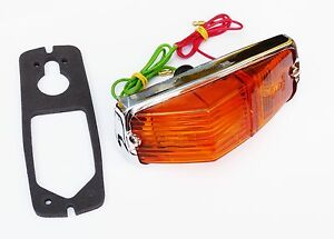Lucas L677 All Amber Side & Indicator Lamp for MGB Aston Martin Spitfire BHA4966