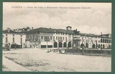 Veneto. PADOVA. Piazza del Santo. Cartolina d'epoca viaggiata nel 1911.