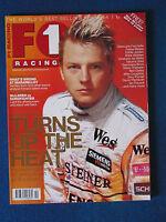 F1 Racing Magazine - February 2004 - Kimi Raikkonen Cover - Formula One