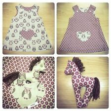 Handmade Party 100% Cotton Dresses (0-24 Months) for Girls