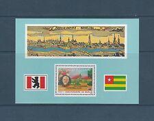 Togo bloc  anniversaire de Berlin   de 1987   num: 262  **
