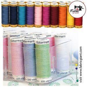 Gutermann Sew-All Thread 100m Reel 100% Polyester Machine + Hand Sewing