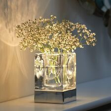 Auraglow Rechargeable Cordless Wireless Colour Changing LED Table Lamp – VASE