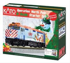 More details for kato 106-0045 operation north pole christmas train starter set