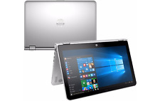 "HP Touch-Screen X360 15t Silver Laptop 15 Convertible 15.6"" i3-7100U 8GB 1TB AC"