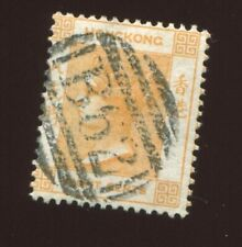 Hong Kong China 1865 Queen Victoria Mi.11   8c, used