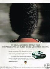 Publicité Advertising 1995 Rover 620 Turbo Diesel à injection  Directe