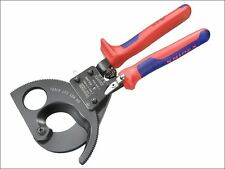 Knipex - Cable Shears Ratchet Action Multi Component Grip 280mm