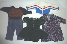 Lot of an Original American Girl Doll Clothes Sports Jacket Rob Jeans Dress