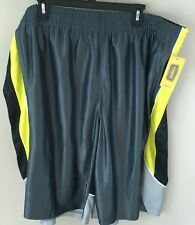 5XL 5X Basketball Shorts Bright Buttercup The Foundry Supply Co NWT Big Tall