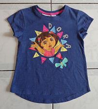Girl's Blue Dora the Exprorer T-Shirt - Size 5 - Brand: Nickelodeon