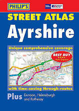 Ayrshire North, East and South Ayrshire Street Atlas by Philips (Paperback)