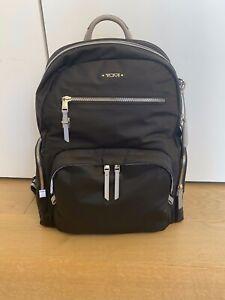 Women's TUMI Voyageur 'Carson' Black Nylon Backpack - 132742