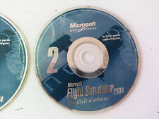 cd n°2 du jeu Microsoft flight simulator 2004 PC FR
