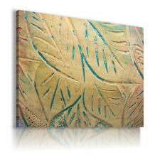 SCULPTURING LEAVES THERAPY PRINT CANVAS WALL ART PICTURE AB580 MATAGA