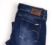 G-Star Raw Damen 3301 Bootleg Jeans Stretch Größe W29 L32 AVZ1300