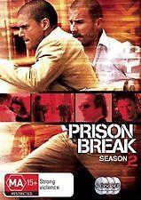 PRISON BREAK - COMPLETE SEASON 2 - BRAND NEW SEALED 6-DISC DVD BOX SET, REGION 4
