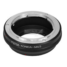 Fotga Konica AR Lens to Micro 4/3 Adapter Ring for Olympus Panasonic M4/3 Camera