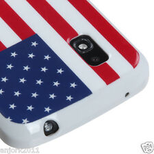LG Nexus 4 Google Phone E960 CANDY SKIN TPU GEL COVER CASE US FLAG