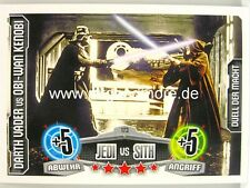 Force coronó Movie Card-Darth Vader vs Obi-Wan Kenobi #173