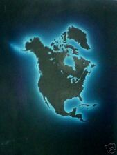 """North America Glow"" Original Painting / Joe Tucciarone"