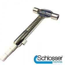 10 x serrurier multi-tool - haute qualité avec cylindre mesureur, baïonnette broche....