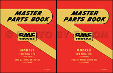 GMC Parts Book 1942 1946 1947 1948 1949 1950 Pickup and Truck Part Catalog