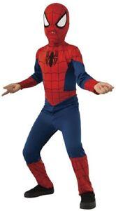 Costume Deluxe Carnevale Bambino Ultimate Spiderman Marvel Rubie's Art.640841
