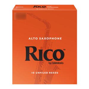 Anches D'Addario Rico saxophone Alto - toutes forces