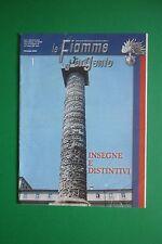 LE FIAMME D'ARGENTO  GENNAIO 1/2006 INSEGNE E DISTINTIVI ARMA DEI CARABINIERI