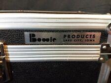 "Vtg BOWIE Hard Case Travel Flight Road Pro Music Camera Gear Lock & Key 16"" x 9"""