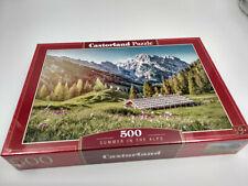 Puzzle 500 pieces Les Alpes en été 47x33cm de marque Castorland neuf