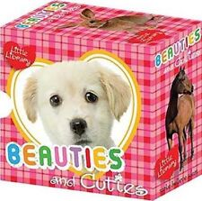 Beauties and Cuties (Little Libraries) Collection Childrens 6 Board Books Set