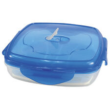 KitchenWorthy THE LOCK BOX - Use as a lunch box - steamer - or storage container
