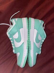 Size 7.5W (6 Mens) - Nike Dunk Low Green Glow [DD1503-105]