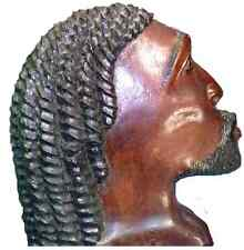 Congo Carved Head Bust From a  Past Era