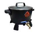 MELTING POT X-LARGE WAX MELTER/CANDLE MAKING WITH SPOUT/ELECTRIC