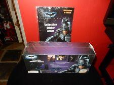 BATMAN The Darkl Knight Collectable Stickers with Figurine With Bonus Album