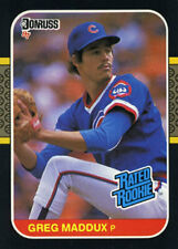 REFRIGERATOR MAGNET of 1987 Greg Maddux Rookie Card Chicago Cubs #36