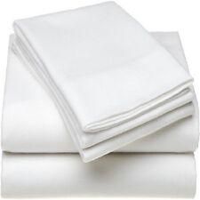 2 WHITE 108x110 T-200 FLAT TOP SHEETS KING HOTEL PREMIUM FLAT SHEET SALE PRICE