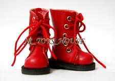 Red Martin Boots D26 fits Pullip blythe barbie momoko