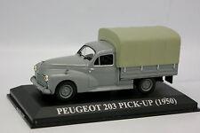 Ixo Presse 1/43 - Peugeot 203 Pick Up Bâché 1950