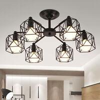 3/6/8Head Modern Chandelier LED Ceiling Light Fixture Pendant Hanging Lamp Sale