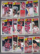 1983 - 84 OPC Team SET Lot of 15 New Jersey DEVILS NM+ o-pee-chee BROTEN LEVER